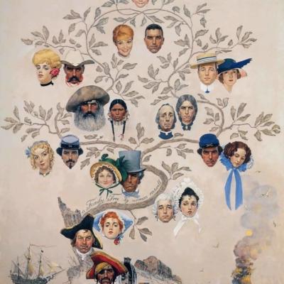 Norman Rockwell - arbre généalogique