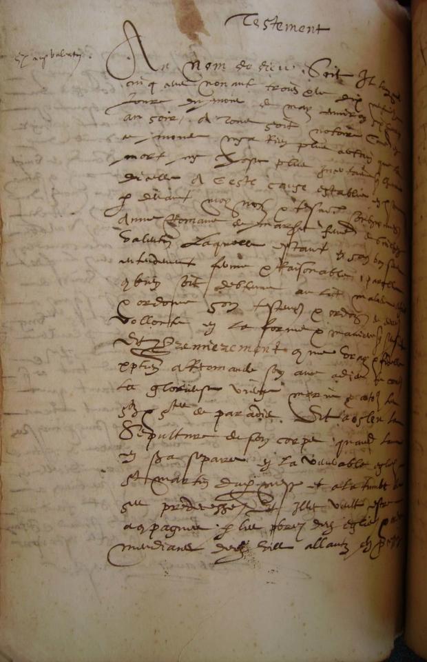 Testament 1593